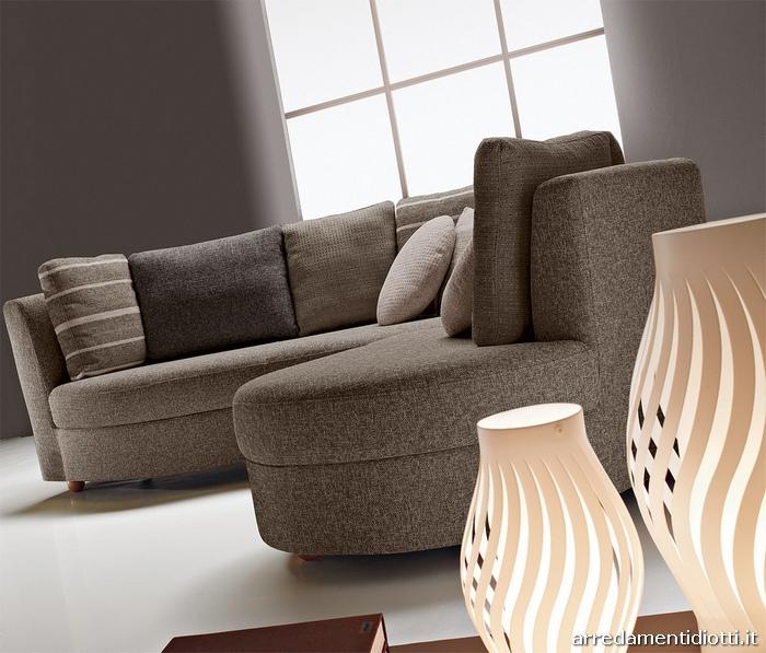 Divano angolare curvo idee per il design della casa - Divano componibile angolare ...