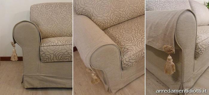 Divani ascot a 2 e 3 posti diotti a f arredamenti - Copri bracciolo divano ikea ...