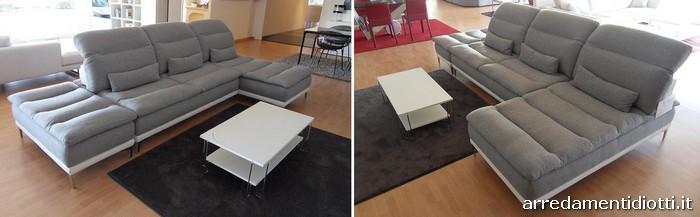 Divano deep con cambio profondit della seduta diotti a - Poggiatesta per divano ...