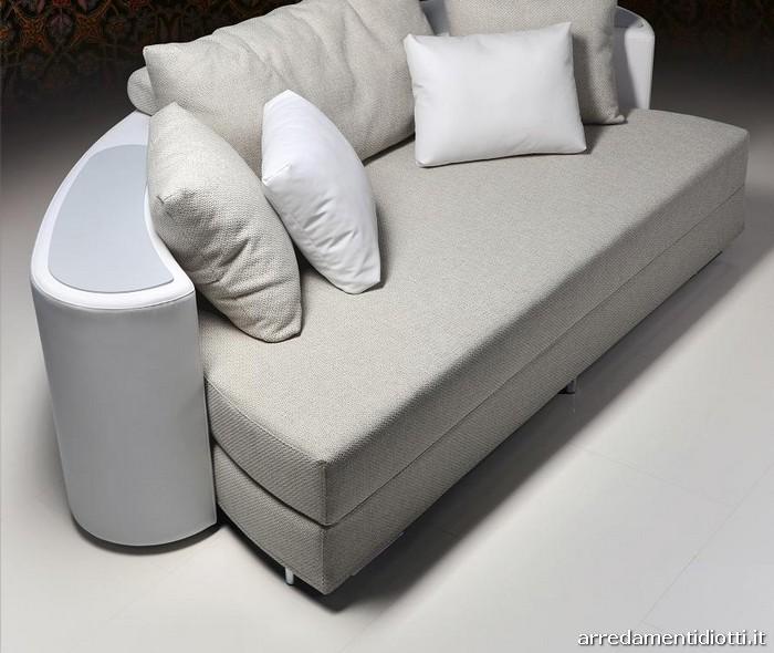 Divani componibili tondi divano curvo design componibile - Ovvio divani letto ...
