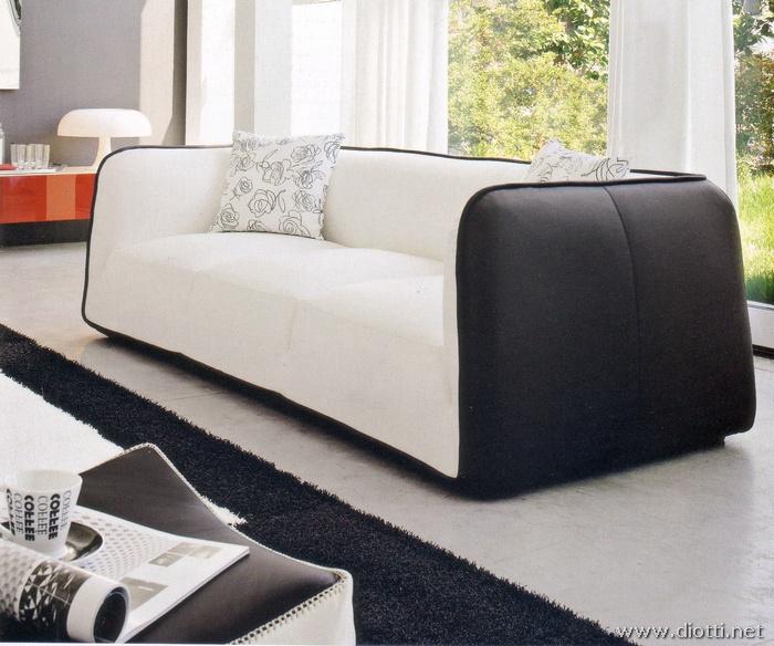 Arredamenti diotti a f il blog su mobili ed arredamento for Divani pelle bianca