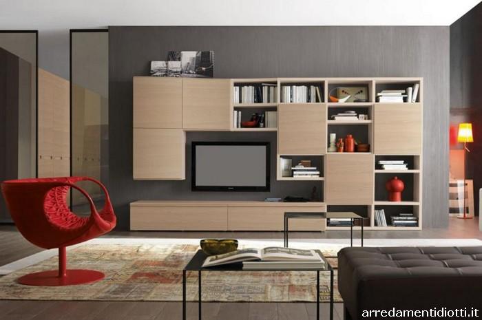Nel soggiorno il legno diventa un elemento flessibile for Soggiorno a venezia economico