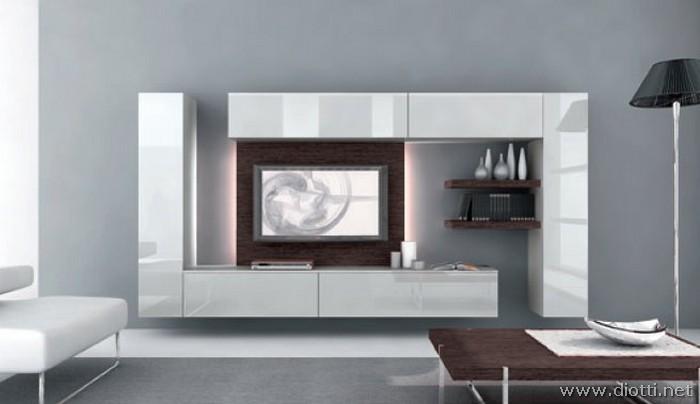 Day: giocare con forme e colori con i mobili soggiorno - DIOTTI A&F ...