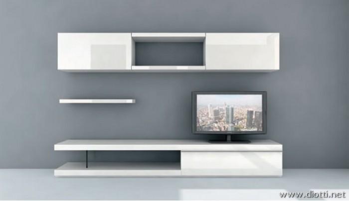 Pareti soggiorno particolari idee per il design della casa - Mobili particolari per soggiorno ...