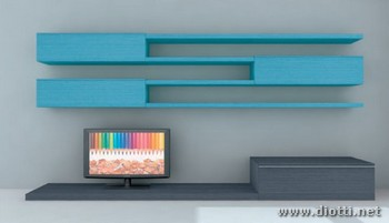 Day living furniture PD26 grey turquoise