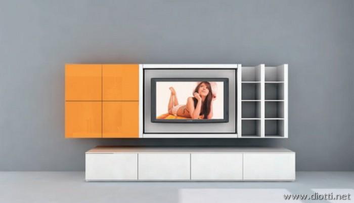 Mobili Arancioni Colore Pareti. Awesome Come Abbinare I Colori Delle ...