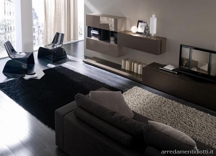 Diotti a f arredamenti for Composizioni soggiorno design