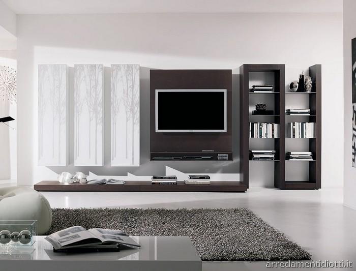 Planning-soggiorno-moderno-parete-tv-big.jpg 700×533 pixel | Tv unit ...