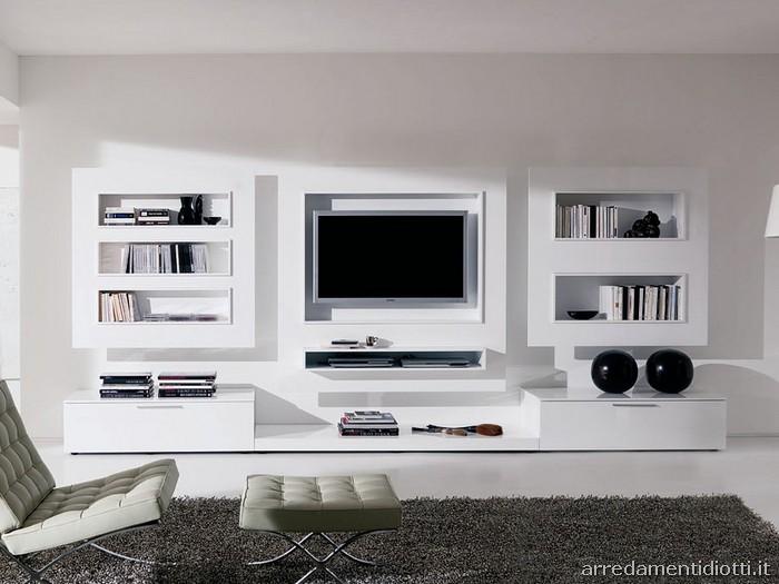 Best Arredamento Parete Soggiorno Contemporary
