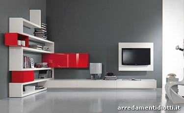 Side System con porta Tv Rack