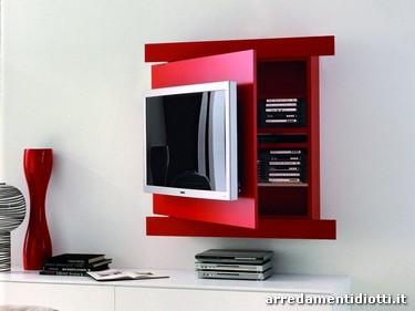 Porta Tv Rack.Sistema Porta Tv Diotti A F Arredamenti