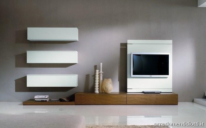 arredamenti diotti a&f - il blog su mobili ed arredamento d ... - Soggiorno Noce Chiaro 2