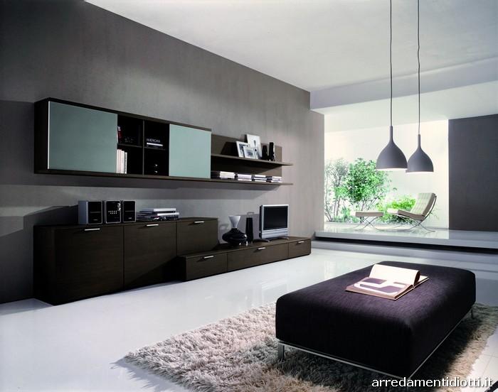 Soggiorno grigio e nero ~ mattsole.com
