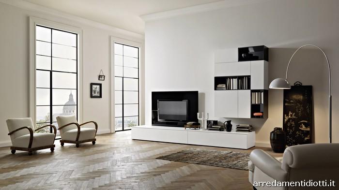Arredamento Soggiorno Moderno Bianco | Zdrojovykod