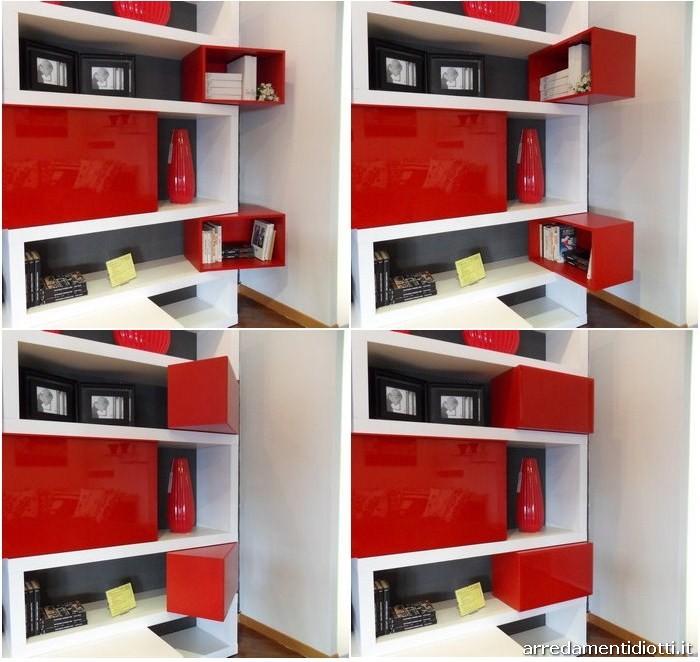 Mobile soggiorno rosso ~ Decora la tua vita