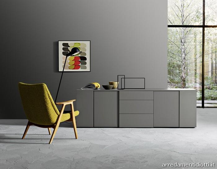 Materiali: Disponibile in rovere brown, grigio e cenere, olmo materico ...