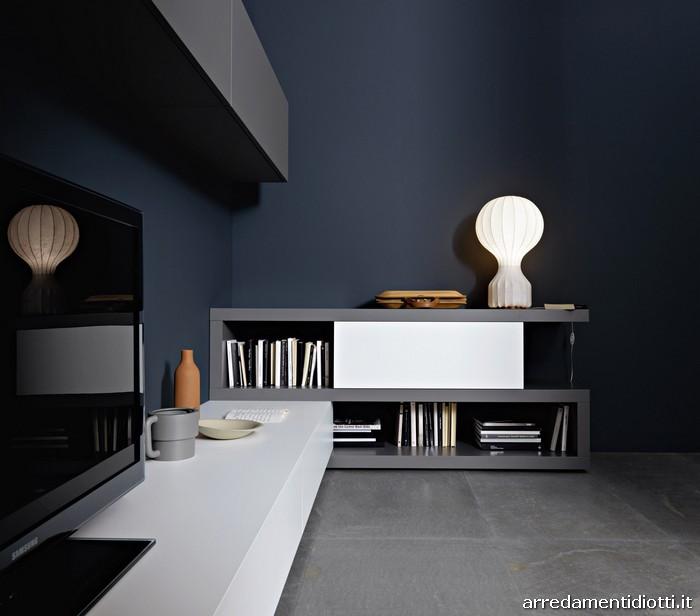 Lampo - Mensole ad incastro - DIOTTI A&F Italian Furniture and Interior Design