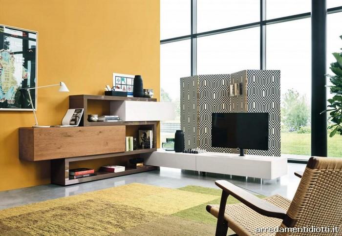 Lampo - Mensole ad incastro - DIOTTI A&F Italian Furniture and ...