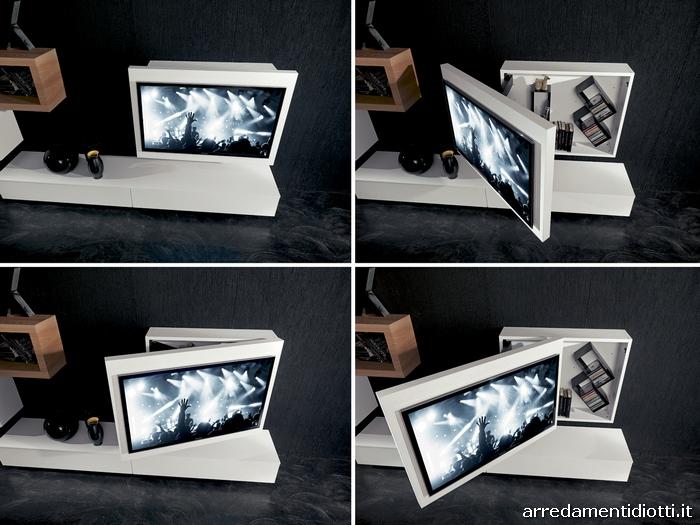Beautiful porta tv camera da letto images idee arredamento casa