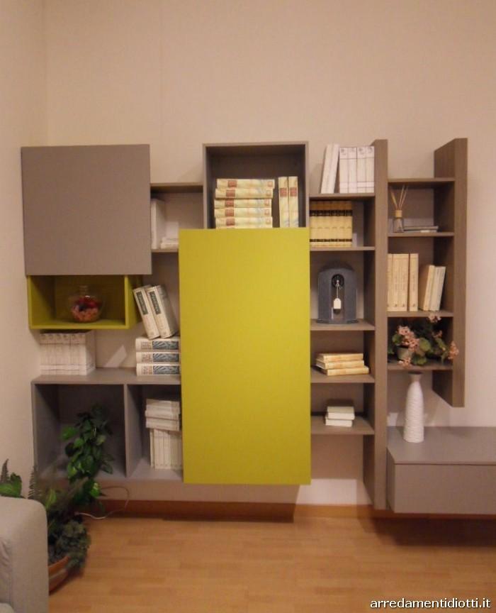Soggiorno side system con porta tv orientabile diotti a for Diotti a f arredamenti lentate sul seveso monza e brianza