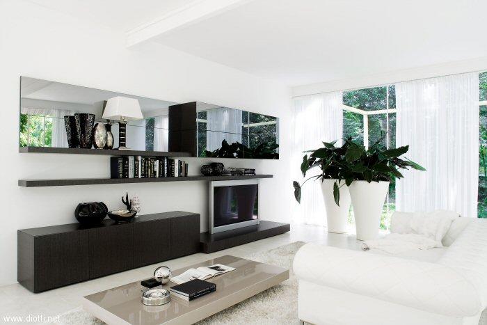 Arredo soggiorno roma idee per il design della casa - Soggiorno moderno roma ...