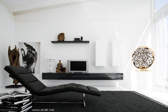 Arredamenti diotti a f il blog su mobili ed arredamento for Soggiorno minimalista