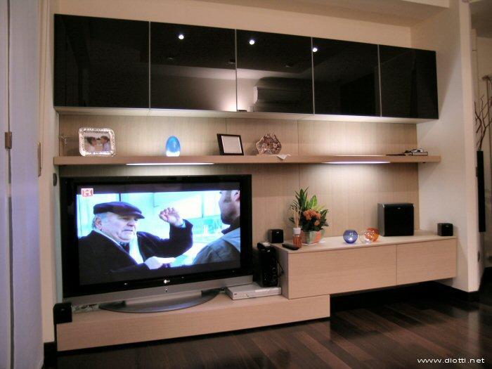 Un soggiorno a milano diotti a f arredamenti for Mobili x soggiorno moderni