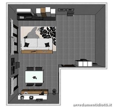 Questo progetto è stato realizzato per un appartamento di una giovane ...