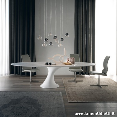 Tavoli Rotondi E Ovali   DIOTTI Au0026F Italian Furniture And Interior Design