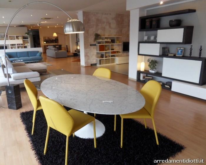Tavolo Saarinen Marmo : Tavolo eero saarinen e sedie maori diotti a f italian furniture
