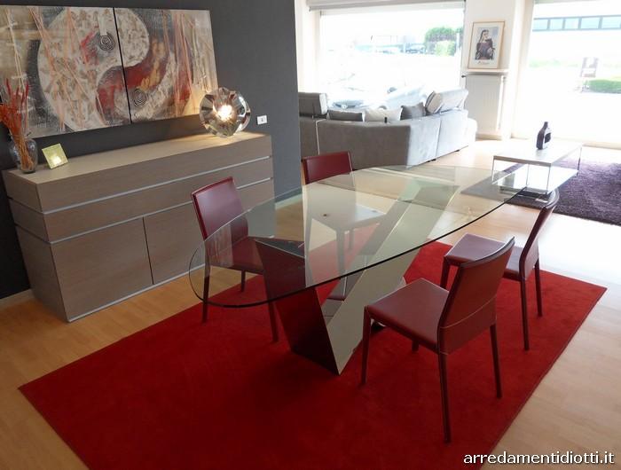 Tavolo In Vetro E Sedie.Valentinox E Margot Diotti A F Italian Furniture And Interior Design