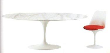 Tavolo di design fisso di Eero Saarinen - DIOTTI A&F Arredamenti